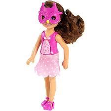 barbie sisters chelsea friends doll owl mask cgp11