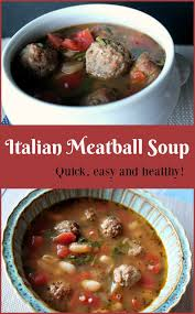 italian meatball soup quick and easy to make good to eat and healthy a pinch of joy jpg