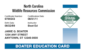 carolina boating license boat safety course boat ed