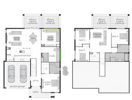 Hillside House Plans For Sloping Lots The Horizon Split Level Floor Plan By Mcdonald Jones
