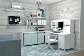 furniture beautiful ikea office ideas with white desk and white