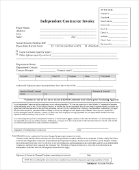 Contractor Resume Sample by Contractor Invoices Best Blank Invoice Doc Gallery Office