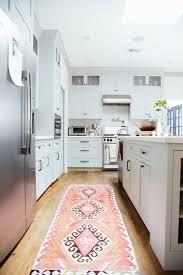 pink kitchen rug kenangorgun com green