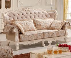 Chesterfield White Leather Sofa 2015 Foshan Furniture Living Room Chesterfield Sofa Set White