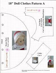free holiday craft patterns for 18 u2033 dolls chellywood com
