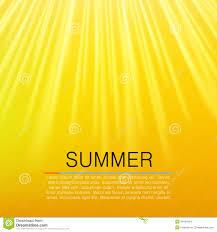 warm yellow sun beam summer concept vector stock vector image