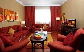 living room outstanding living room with brown and red rug and