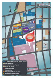 Los Angeles Convention Center Map by Expo Parking La Marathon