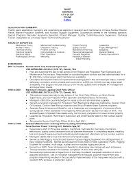 Electrical Resume Navy Resume Examples