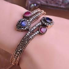 Bracelet Fleur Mariage Achetez En Gros Vintage De Mari U0026eacute E Bracelet Manchette En