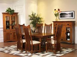 Classic Mission Dining Room Furniture Amish Dining Room - Mission dining room table