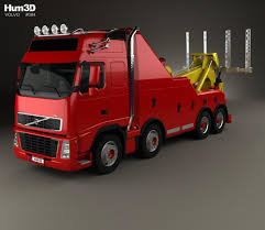 volvo model trucks volvo fh tow truck 2008 3d model hum3d
