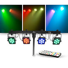 guitar center dj lights chauvet dj lighting package with 4bar tri usb rgb led fixture and