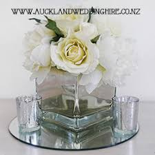 Mirrored Cube Vases Glass Vases Wedding And Event Hire Auckland