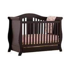 Storkcraft 3 In 1 Convertible Crib Storkcraft Vittoria 3 In 1 Fixed Side Convertible Crib Black