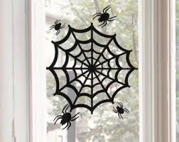 reusable bats window cling halloween decor halloween