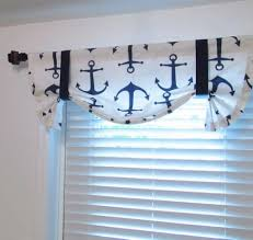 nautical valances window treatments dragon fly