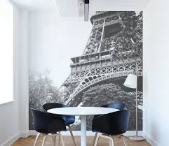 12 black white wall murals to upgrade your home decor eazywallz black and white paris wall mural home decor
