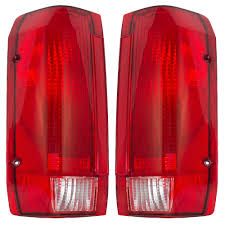 Ford F250 Truck Parts And Accessories - amazon com driver and passenger taillights tail lamps replacement