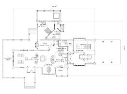 prairie hill log home floor plan