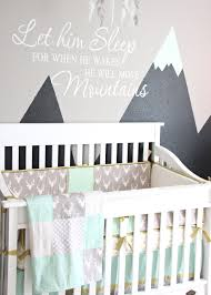Boho Crib Bedding by Reyn U0027s Rocky Mountain Retreat Woodland Nursery Design U2013 Caden Lane
