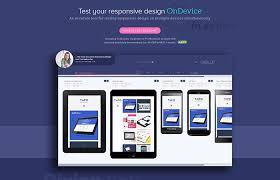 responsive design tool ondevice app responsive design tool cssreel css website awards