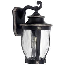 Hampton Bay Exterior Wall Lantern by Home Depot Outdoor Lighting Wall Mount Motion Sensor Low Voltage