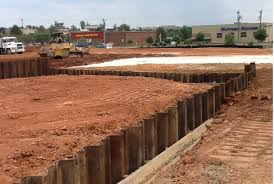 Steel Sheet Piling Cost Estimate by Shoring In Maryland Florida Carolina Delaware Virginia