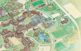 Iowa State Campus Map by The Bad The Worse And The Dormless