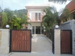 nai13393 2 storey house with 2 bedroom in saiyan phuket rent house