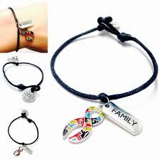 family bracelets autism charm bracelet autism awareness bracelet family