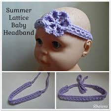 headband baby baby headbands free crochet patterns