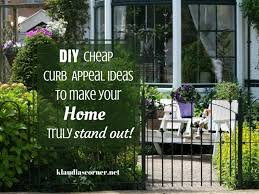 Curb Appeal Diy - diy cheap curb appeal ideas that make your home stand out