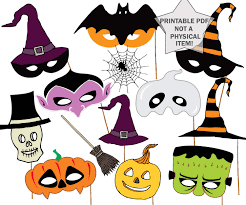 halloween party photo booth props halloween masks