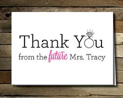 thank you card top images of bridal shower thank you cards bridal
