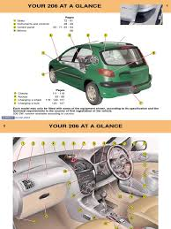 peugeot 206 owners manual 2003 airbag anti lock braking system
