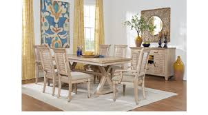 nantucket breeze white 5 pc dining room rectangle traditional