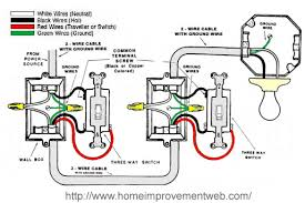 how to install a 3 way switch option 1 the home improvement web