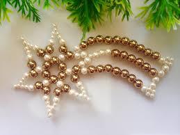 how to make christmas ornaments diy beaded decorations ideas idolza
