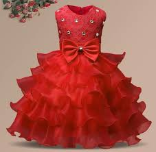 baby clothes girls christmas dress red christmas dress
