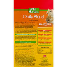 wild harvest daily blend nutrition diet dry hamster gerbil food