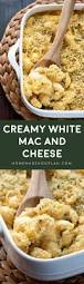 creamy white mac and cheese homemade hooplah