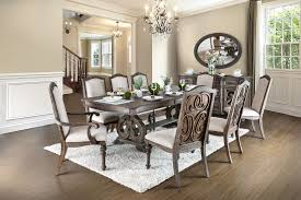 furniture home inspiring giovani black white wood glass dining