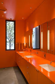 orange bathroom ideas 16 beautiful bathrooms with subway tile