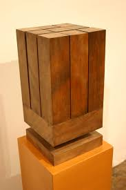 geometric wood sculpture noho modern sold items