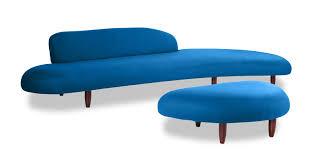 Sofa Mid Century Modern by Brayden Studio Potvin Mid Century Modern Sofa And Ottoman Set