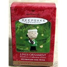 linus hallmark keepsake ornament home kitchen
