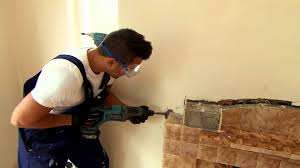 peter helps remove a tile fireplace peter andre u0027s 60 minute
