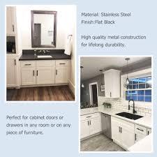 kitchen cupboard handles in black hardware goldenwarm black cabinet handles 3in drawer pulls