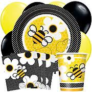 bee baby shower bee party supplies and decorations bumble bee party supplies
